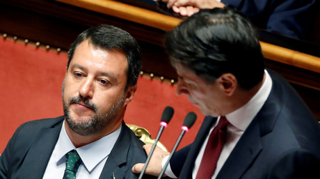 Matteo Salvini et Giuseppe Conte