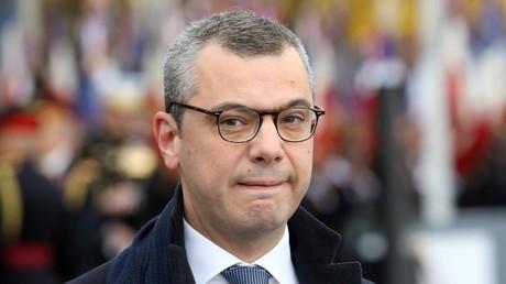 Le chef de cabinet du président français Alexis Kohler à Paris, le 11 novembre 2018.