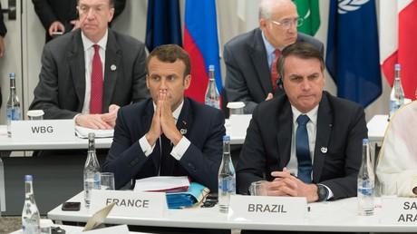 Accusant Bolsonaro de lui avoir menti à Osaka, Macron s'oppose à l'accord UE-Mercosur «en l'état»