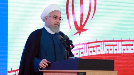 Hassan Rohani, le 27 août 2019, à Téhéran, en Iran (image d'illustration).