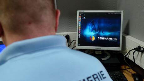 Un gendarme français des Brigades Départementales de Renseignements et d'Investigations Judiciaires, en janvier 2014 (image d'illustration).