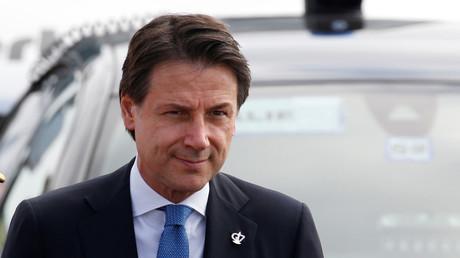 Giuseppe Conte au G7, le 24 août (image d'illustration).