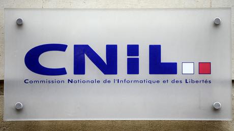 Le logo de la CNIL, le 29 janvier 2013, à Paris (image d'illustration).