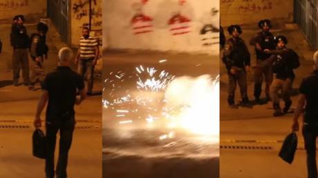 Jérusalem : des policiers israéliens lancent une grenade sur un photographe de Haaretz (VIDEO)