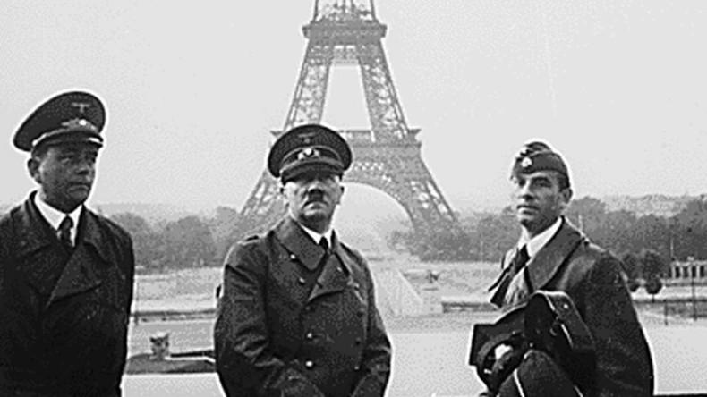Des symboles du IIIe Reich et un buste d'Hitler se trouvaient-ils au Sénat  5d6f665b09fac2a94d8b4568