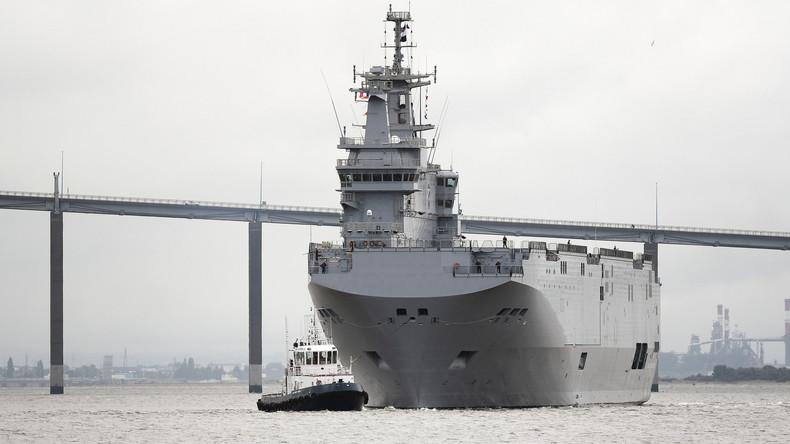 Annulation de la vente de Mistral par Paris: la Russie va fabriquer ses porte-hélicoptères en Crimée