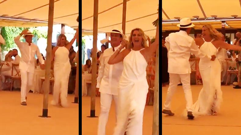 Chemise transparente, pas de danse et Gipsy Kings : le mariage espagnol de Manuel Valls (VIDEO) 5d81024c6f7ccc66c077562c