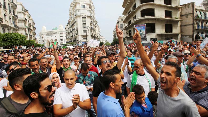 Le chef de l'armée algérienne ordonne d'empêcher les manifestants d'autres régions d'accéder à Alger