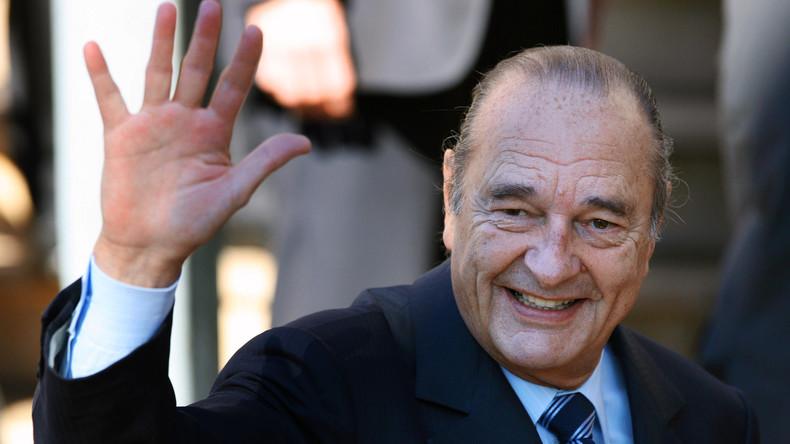 Le monde rend hommage à l'ancien président Jacques Chirac