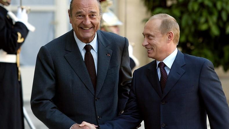 Jacques Chirac : la diplomatie gaullienne et l'amitié franco-russe