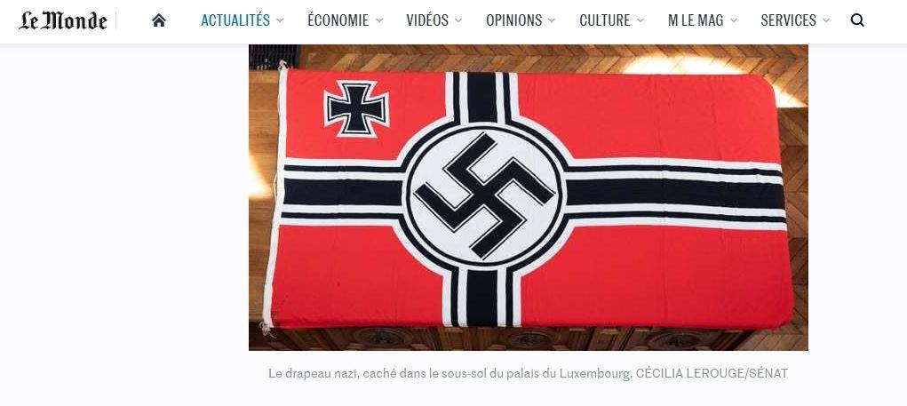 Paris : pourquoi des symboles du IIIe Reich et un buste d'Hitler se trouvaient-ils au Sénat ?