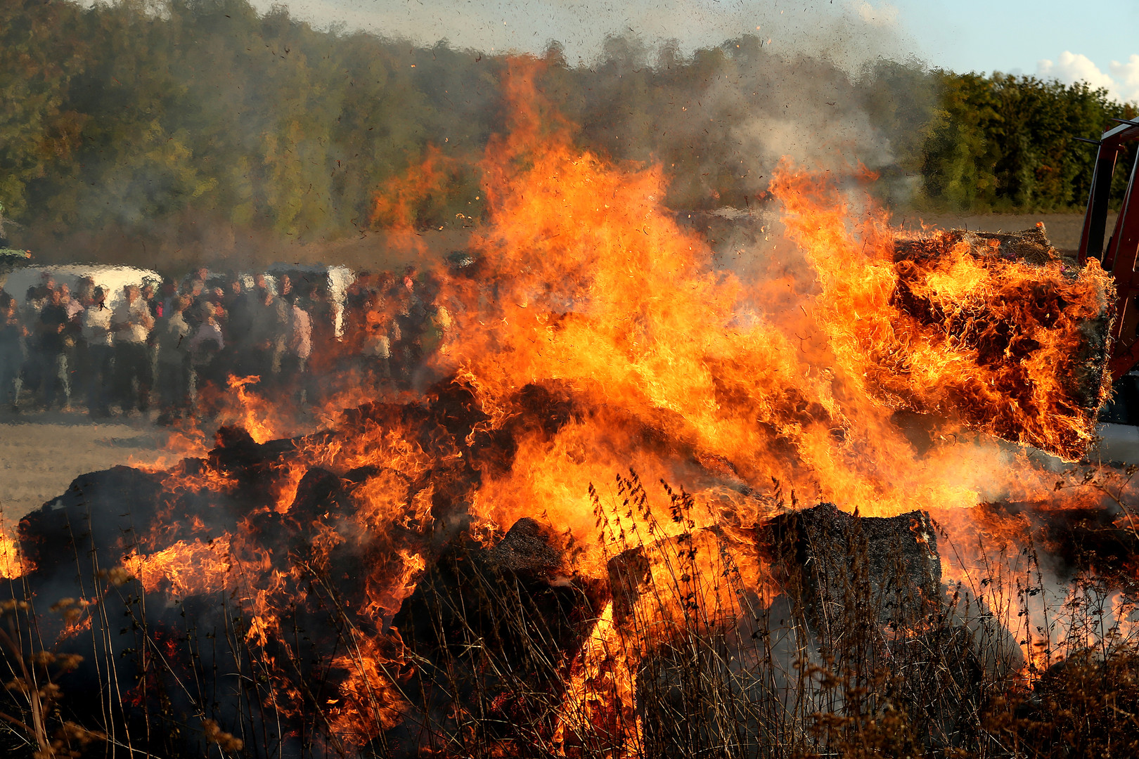 Manifestations d'agriculteurs: des «feux de la colère» pour dénoncer un «malaise dans la profession»