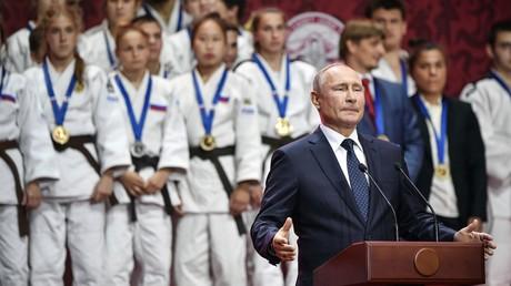 La Russie n'a pas peur de la course aux armements car elle dispose d'armes uniques, selon Poutine 5d71352f09fac27c3b8b4567