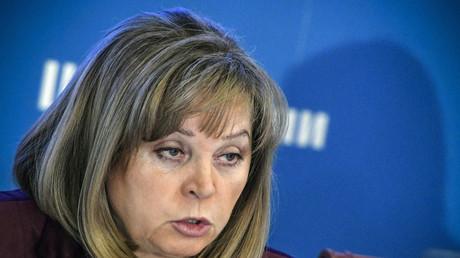 Ella Pamfilova, présidente de la Commission centrale des élections en Russie.