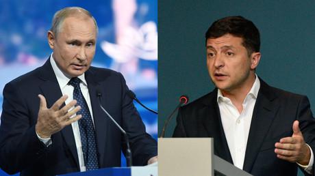 Poutine et Zelensky ont discuté de la résolution du conflit en Ukraine, selon le Kremlin