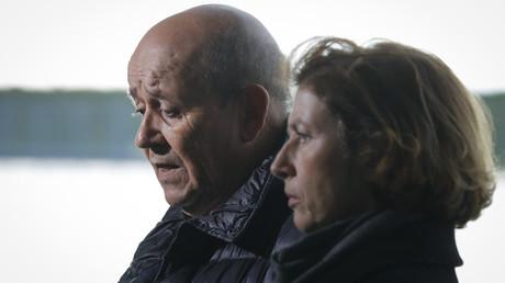 Jean-Yves Le Drian et Florence Parly, respectivement ministre des Affaires étrangères et ministre de la Défense.