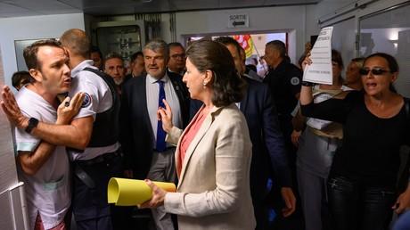 Echange musclé entre Agnès Buzyn et un soignant à l'hôpital Saint-Martin-de-Ré à La Rochelle le 12 juillet (image d'illustration).