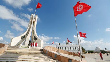 Place de Kasbah à Tunis, en Tunisie, le 26 juin 2018.