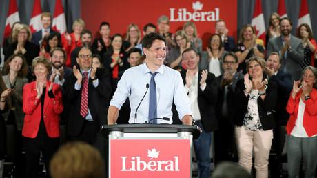 Le Premier ministre du Canada, Justin Trudeau à Ottawa, Ontario, Canada. (image d'illustration)
