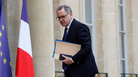 Le président de l'Assemblée nationale Richard Ferrand en décembre 2018 au palais de l'Elysée.