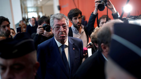 Patrick Balkany le 13 septembre 2019 au tribunal de Paris.