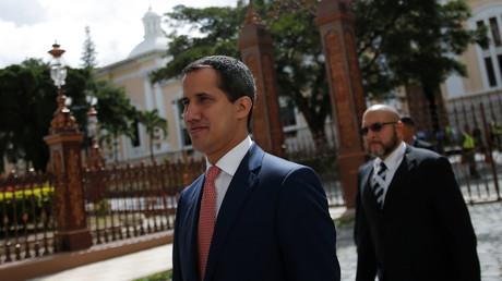 Juan Guaido est inquiété par la justice vénézuélienne (image d'illustration).