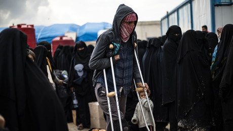 Femmes et enfants de djihadistes retenus en Syrie : plainte de familles contre Le Drian