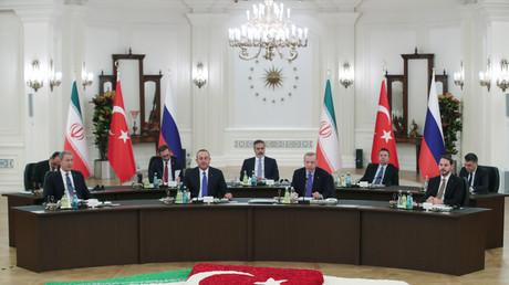 Sommet sur la Syrie : Poutine, Erdogan et Rohani réunis à Ankara