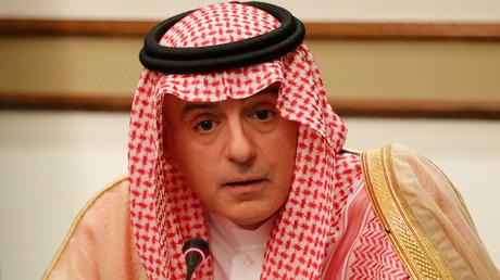Le ministre d'Etat des Affaires étrangères saoudien, Adel al-Jubeir, le 20 juin 2019, à l'ambassade saoudienne de Londres, au Royaume-Uni (image d'illustration).