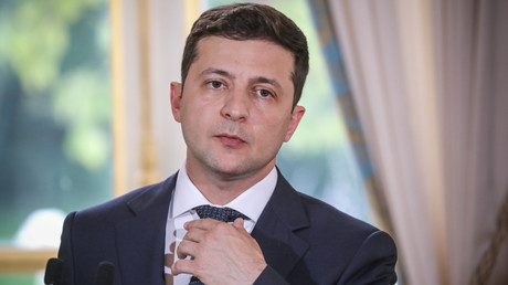 Le président ukrainien Volodymyr Zelensky