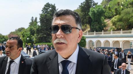 Fayez el-Sarraj durant les obsèques de l'ancien président tunisien Beji Caid Essebsi le 27 juillet 2019 (image d'illustration)
