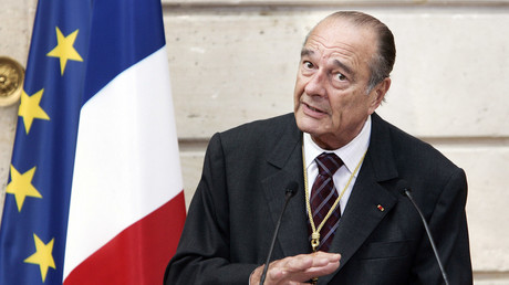 Jacques Chirac à Paris, le 26 avril 2007. (Image d'illustration)