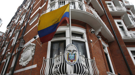 Ambassade de l'Equateur à Londres, où Julian Assange s'est réfugié de 2012 à 2019.