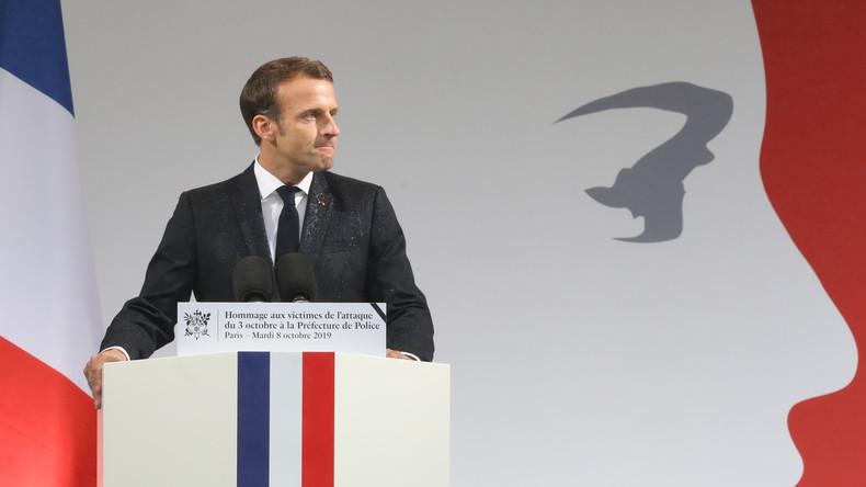 Macron appelle à bâtir «une société de vigilance» face à «l'hydre islamiste»