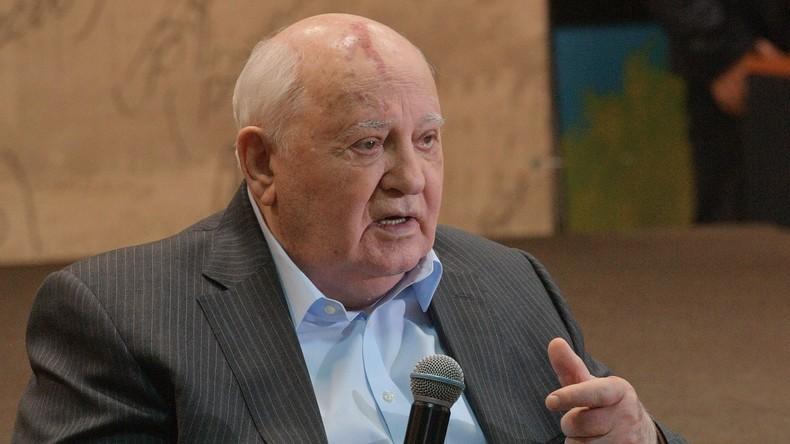 L'ancien président de l'URSS Mikhaïl Gorbatchev a envoyé une lettre à Emmanuel Macron