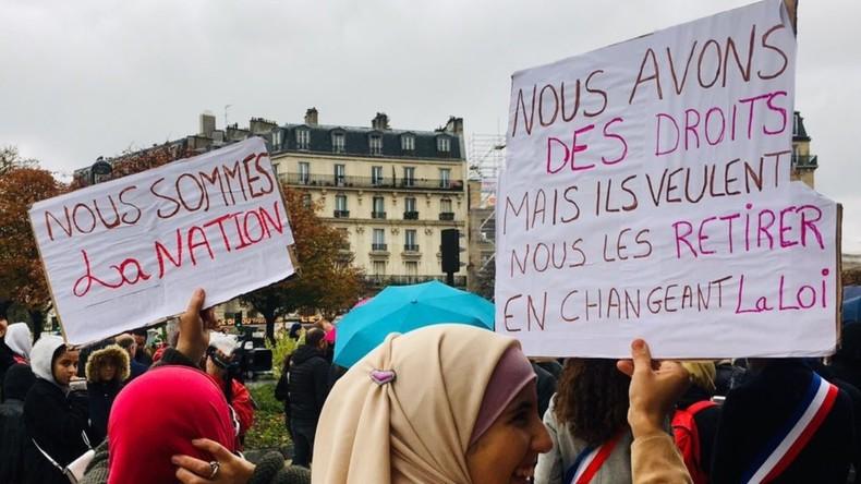 Rassemblement à Paris pour dénoncer la montée de l'islamophobie 5db5ac6c87f3ec7c7f320c11