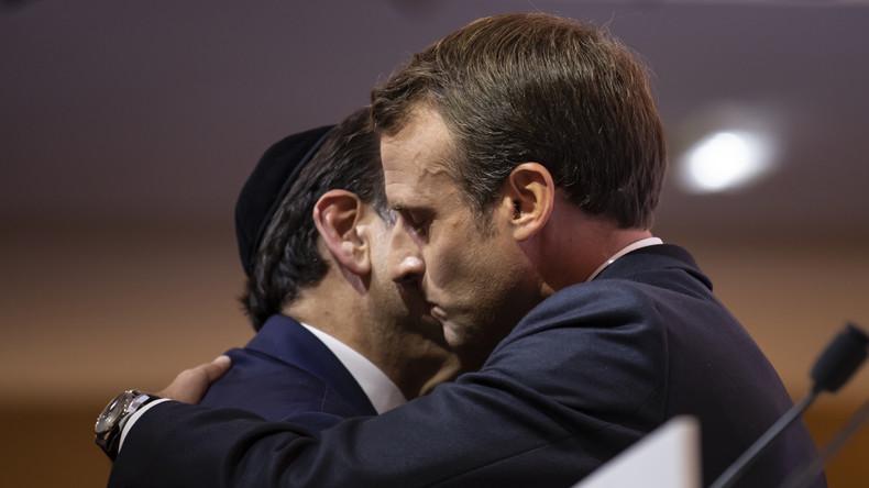 Pour Macron, le départ des Juifs de France «est une amputation» de ce qu'est la République