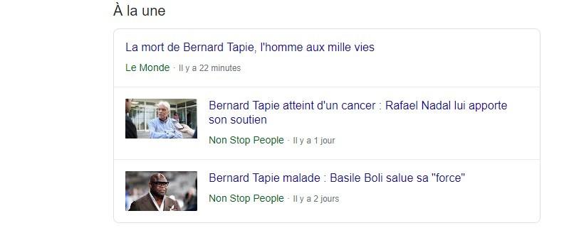 Le Monde dévoile par erreur la mort de Bernard Tapie, le quotidien plaide «l'erreur technique»