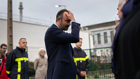 Edouard Philippe en déplacement à Rouen le 30 septembre 2019.