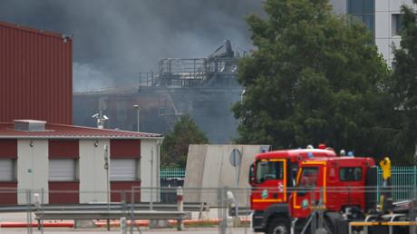 Les pompiers interviennent le 26 septembre à Rouen (image d'illustration).