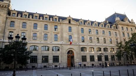 La préfecture de police de Paris le 3 octobre, quelques heures après l'attaque au couteau qui a fait quatre morts (image d'illustration).