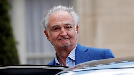Jacques Attali le 29 mai 2019 à l'Elysée (image d'illustration).