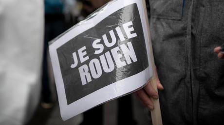Manifestation organisée par des syndicats et des écologistes pour pour protester contre le manque d'information sur l'incendie de Rouen du 26 septembre, à Rouen, le 1er octobre 2019. (image d'illustration)