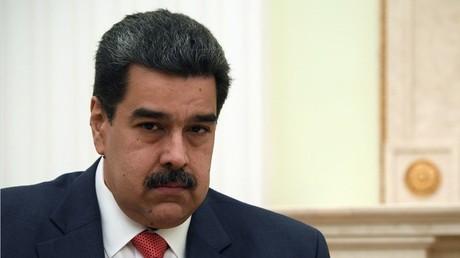 Nicolas Maduro lors de la visite officielle à Moscou