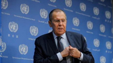 Sergueï Lavrov aux Nations unies à New York en septembre 2019 (image d'illustration).