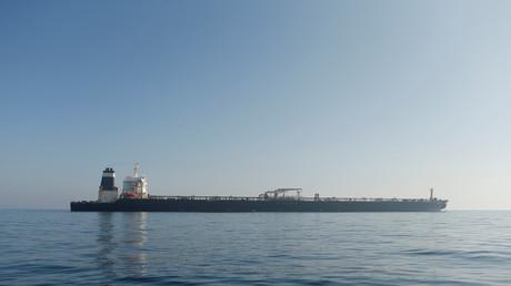 Le tanker iranien Grace 1 en août 2019 (image d'illustration).