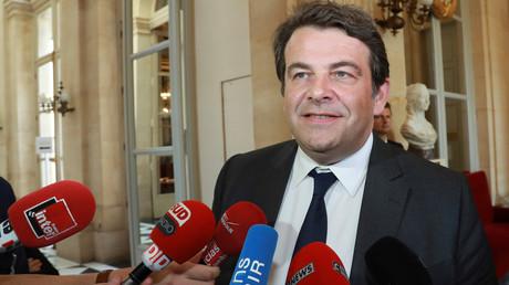 Thierry Solère, le 4 juillet 2017, à l'Assemblée nationale, à Paris (image d'illustration).