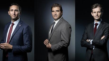 Julien Aubert, Christian Jacob, Guillaume Larrivé postulent pour la présidence du parti LR (image d'illustration).