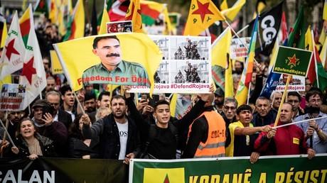 Des milliers de manifestants en France et dans le monde pour dénoncer l'offensive turque en Syrie