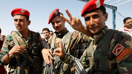Des soldats syriens à la frontière irakienne en septembre 2019 (image d'illustration).